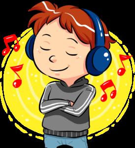 Listening with enjoyment